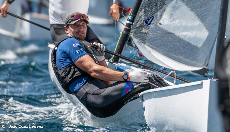 Finn European Championship – Scott joins the leaders after a win on day 3