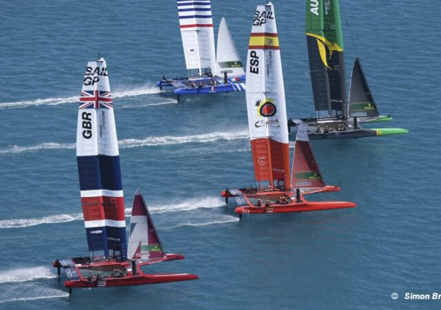 SailGP Bermuda Start