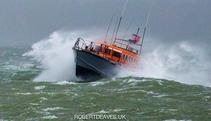 Storm Friday Solent