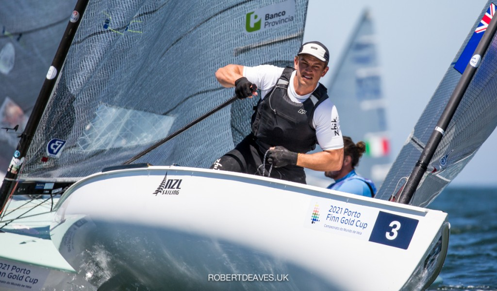 Finn Gold Cup - Andy Maloney NZL