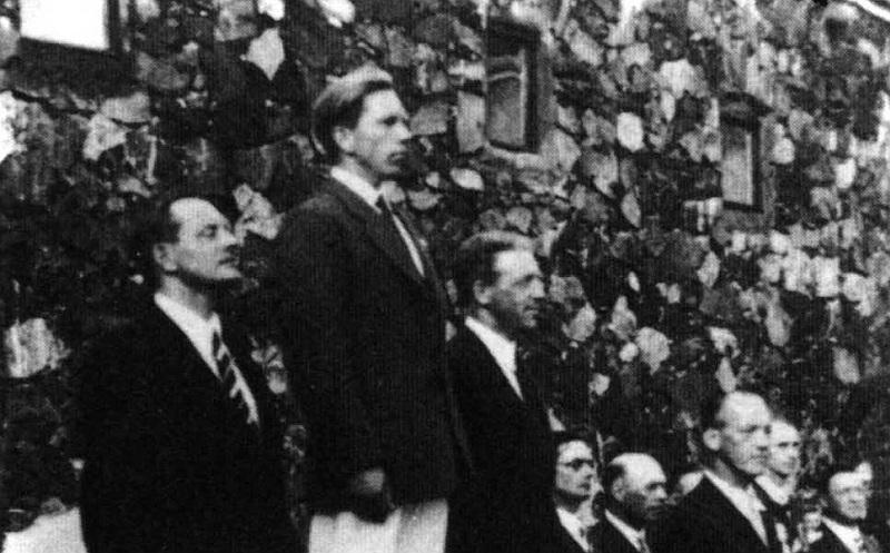 Finn Oympic Podium Helsinki 1952