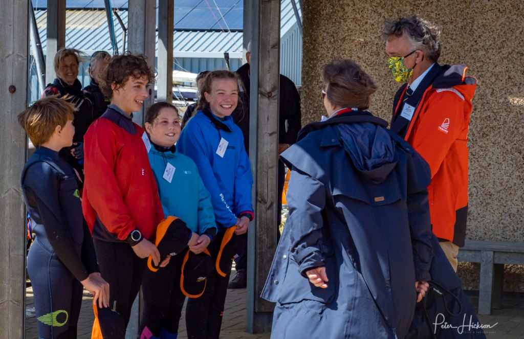 HISC HRH Visit - Youth and Commodore