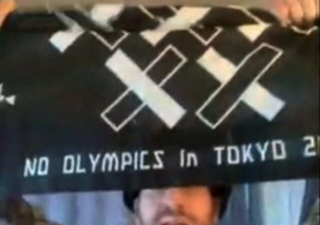 No-Olympic Protest