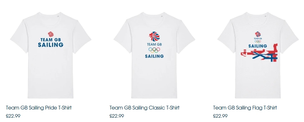 Team GB Sailing T-Shirts