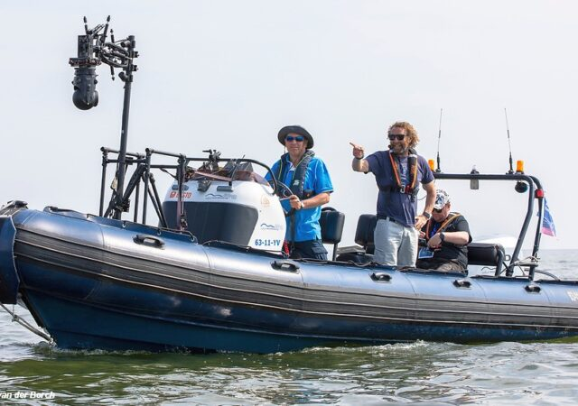 Allianz Regatta Media Boat
