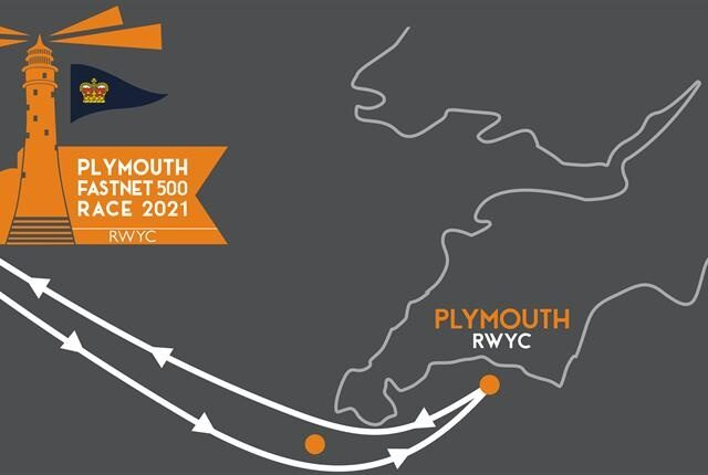 Fastnet Plymouth 500 Chart