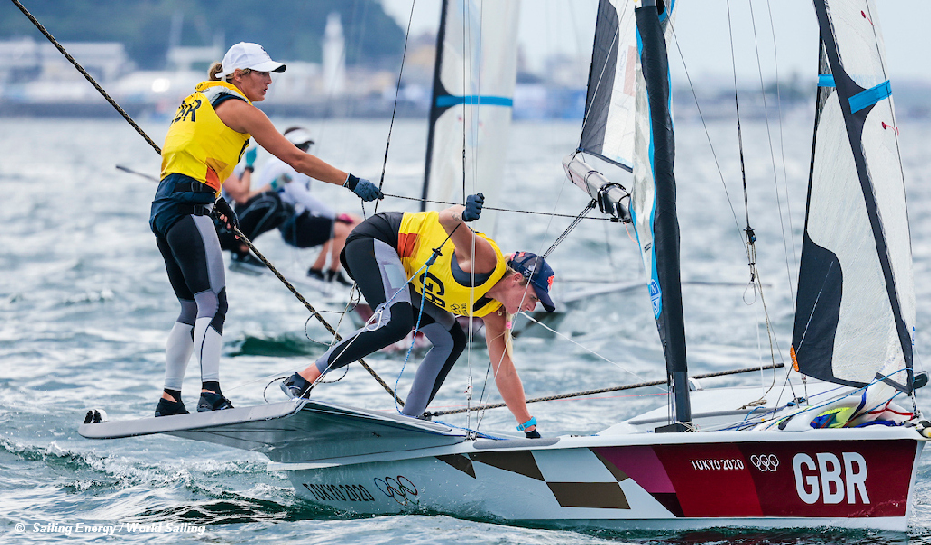 Tokyo Games 49erFX D6 Dobson and Tidey GBR