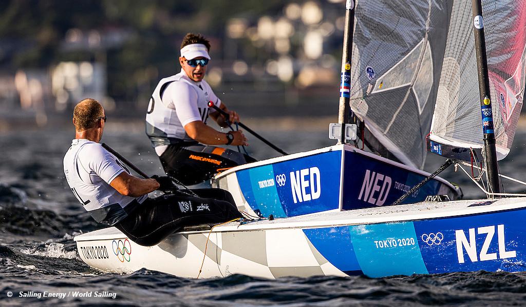 Tokyo Games - Finn - Heiner NED and Junior NZL