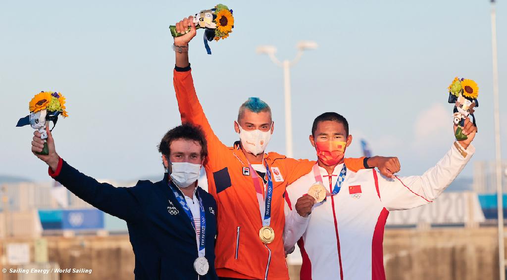 RSX Men Olympic Podium
