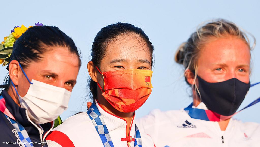 RSX Women Olympic Podium