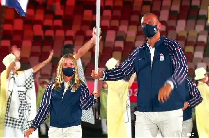 Tokyo Games - Hannah Mills and Moe Sbihi