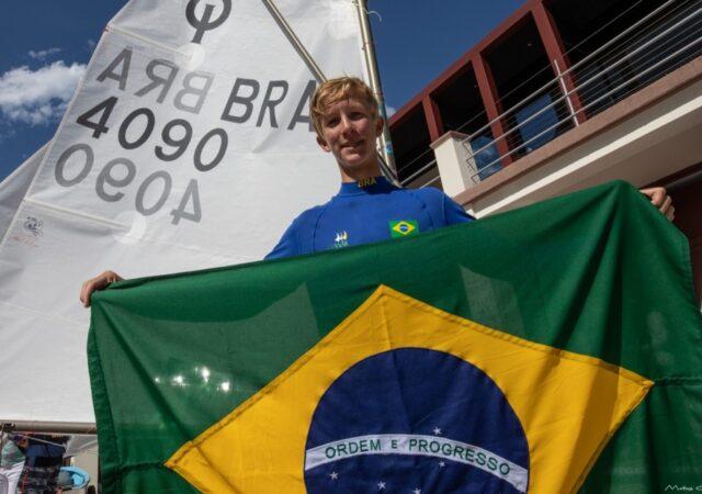 2021 Optimist Worlds Francesco Kuhl BRA