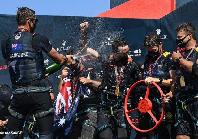 SailGP Plymouth winners