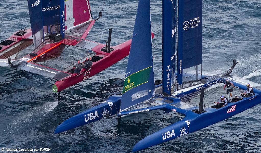 SailGP Italy - GBR and USA