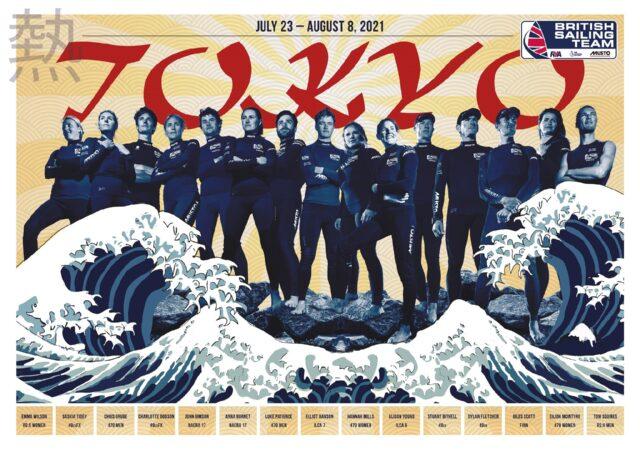 Team GB Sailing Squad 2021