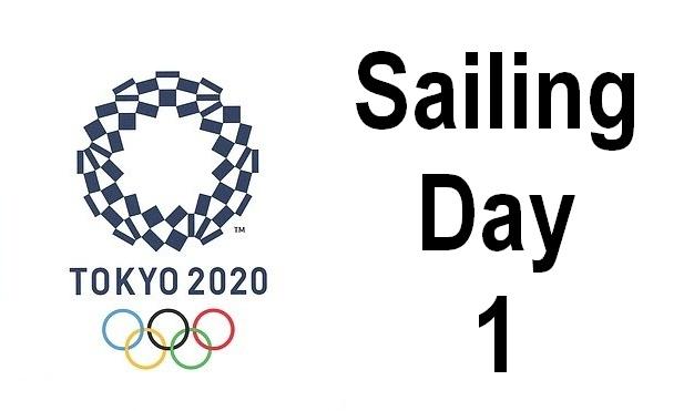 Tokyo Games - Sailing Day 1
