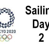 Tokyo 2020 - Sailing day 2
