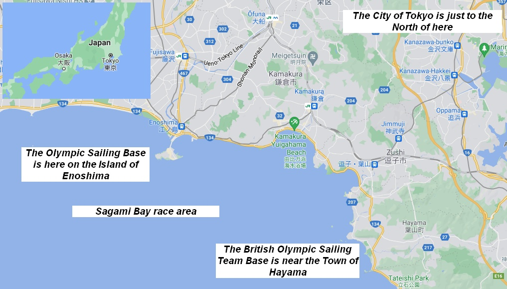 Tokyo Olympic Sailing Area