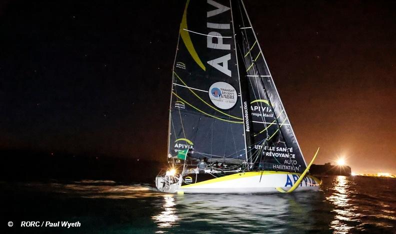 2021 Fastnet Race - Apivia Finish