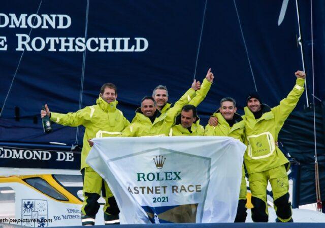 Fastnet 2021Finish - Rothschild