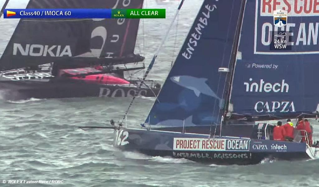 Fastnet Start 2021 - Ocean Rescue