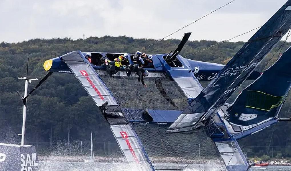 SailGP USA Team Injury