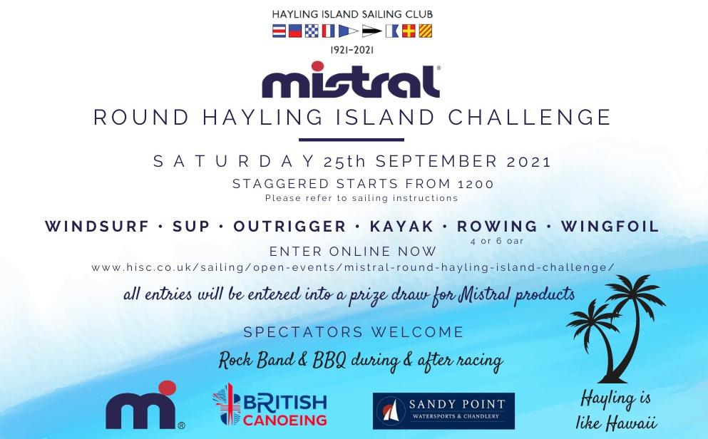 Mistral Round Hayling Challenge 2021