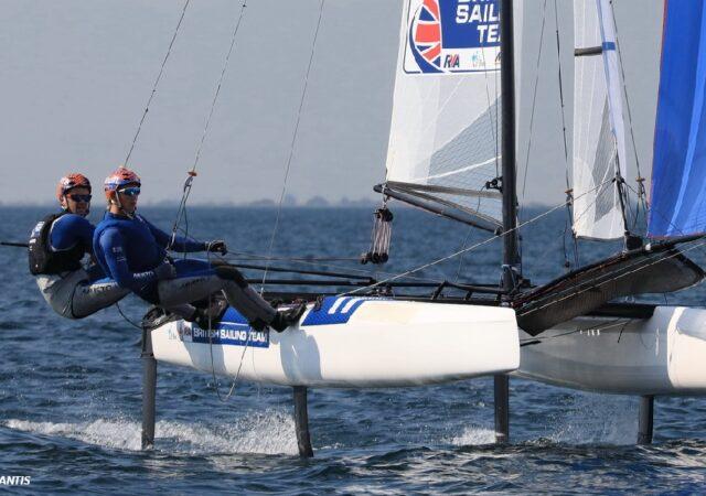 Nacra17 Euros 2021 Gimson and Burnet