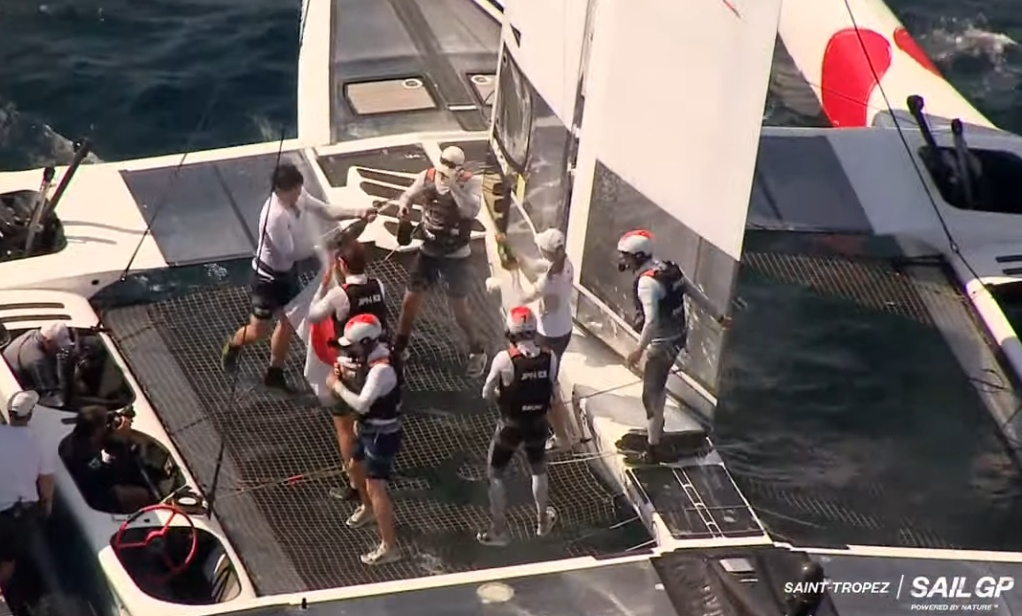 SailGP France winner - Japan