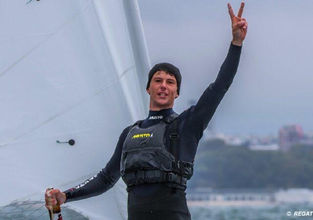 Michael Beckett ILCA 7 Euro Champion