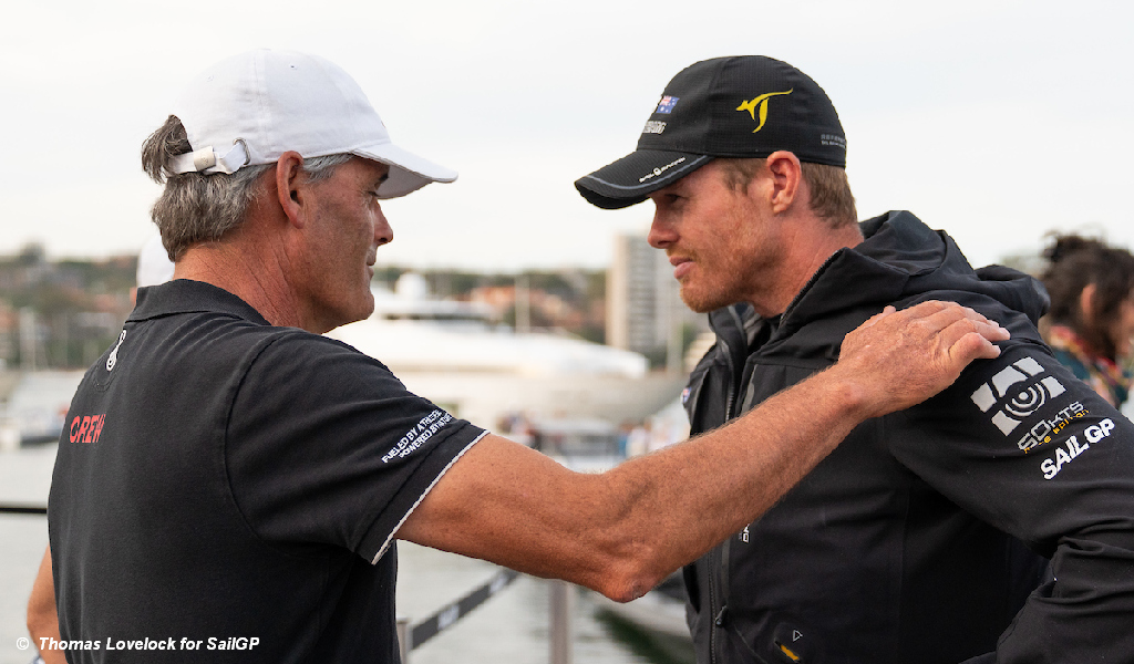SailGP - Russell Coutts and Tom Slingsby
