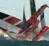 SailGP - GBR Capsize in Final Race