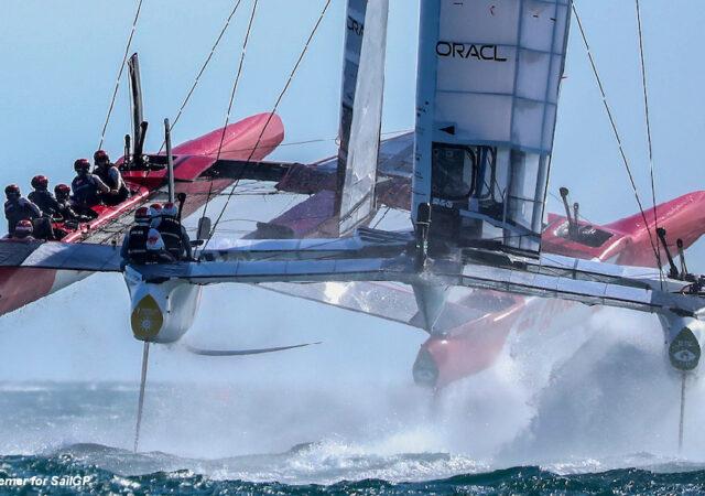 SailGP Spain - JPN and DEN
